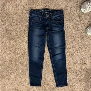 American Eagle Jegging Crop